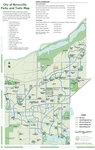 Burnsville Parks and Trails Map